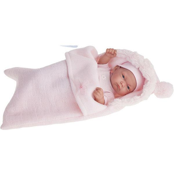 Купить Кукла-младенец Juan Antonio Munecas Карла в розовом, 26 см, Munecas Antonio Juan, Испания, розовый, Женский