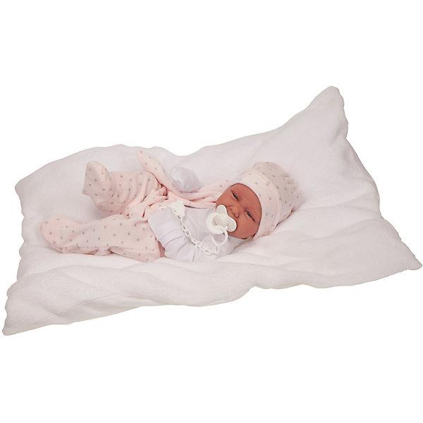 Купить Кукла-младенец Juan Antonio Munecas Патрисия, 42 см, Munecas Antonio Juan, Испания, розовый, Женский