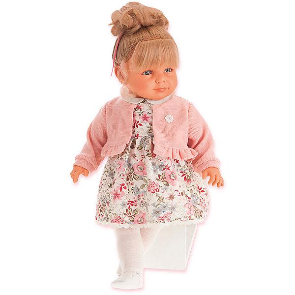 Купить Кукла Juan Antonio Munecas Нина в розовом, 55 см, Munecas Antonio Juan, Испания, розовый, Женский