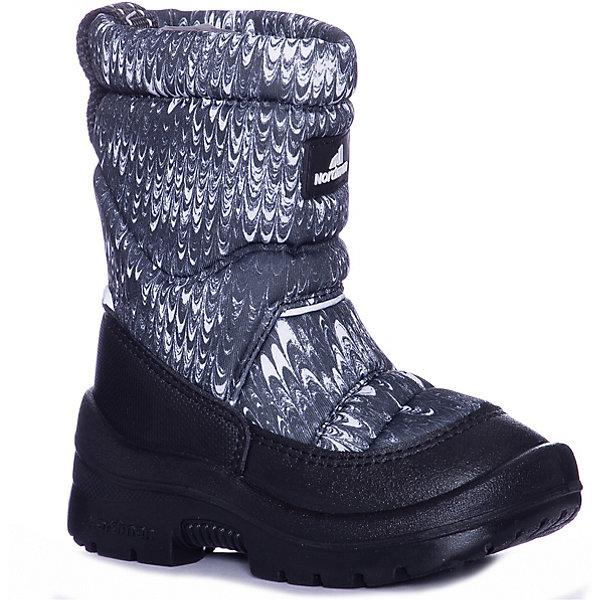 Nordman Сапоги Lumi Nordman для мальчика носки детские гранд цвет серый 2 пары tcl8 размер 22 24