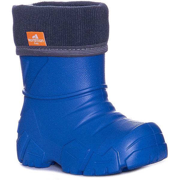 Nordman Резиновые сапоги Nordman Kids для мальчика резиновые сапоги для мальчика nordman цвет светло синий 228101 01 размер 30