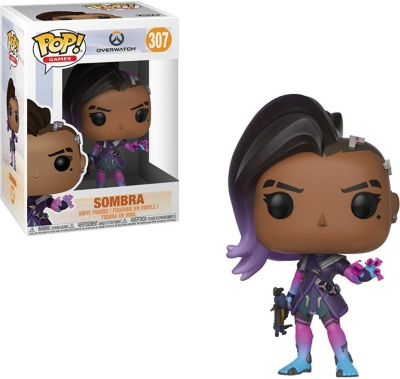 Funko POP! Фигурка Funko POP! Vinyl: Overwatch Сомбра, 29051 funko pop фигурка funko pop vinyl dc holiday рудольф флэш 50654