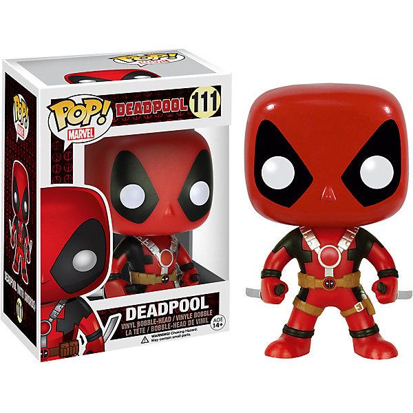 Funko Фигурка Funko POP! Bobble: Marvel: Дэдпул с двумя мечами, 7486 цена 2017