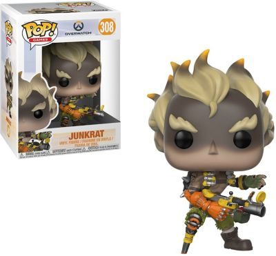 Funko POP! Фигурка Funko POP! Vinyl: Overwatch Крысавчик, 29045 funko pop фигурка funko pop vinyl dc holiday рудольф флэш 50654