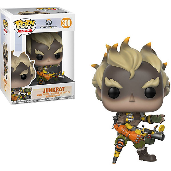 Funko Фигурка Funko POP! Vinyl: Overwatch Крысавчик, 29045 фигурка funko pop vinyl horror the witch black philip 32306