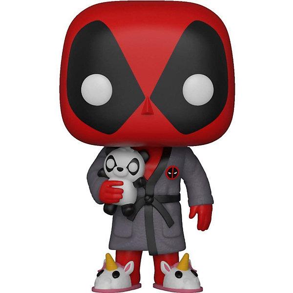 Фигурка Funko POP! Bobble: Marvel Время для игры Дэдпул в халате, 31118 9513273