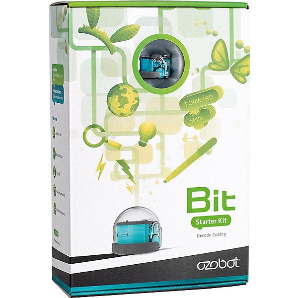 Ozobot Ozobot Bit Cool Blue Набор для начинающих,голубой робот ozobot набор для создания своих скинов для evo diy skin accessory pack