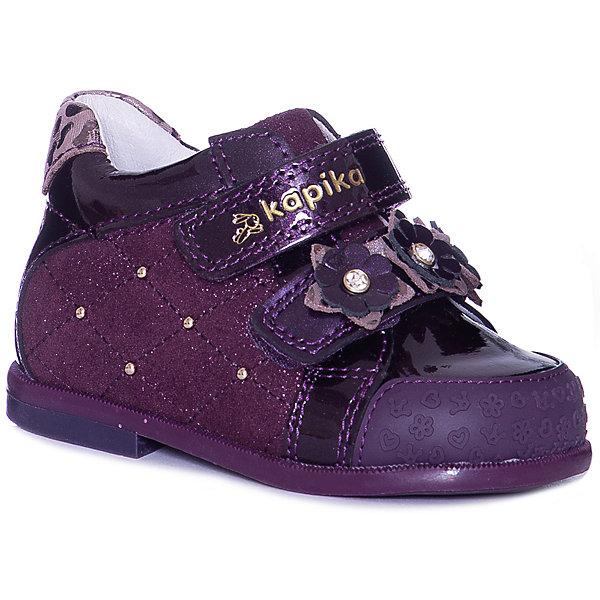 Kapika Ботинки Kapika для девочки ботинки для девочки kapika цвет коричневый 53302ук 2 размер 30