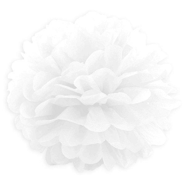 Купить Помпон бумажный Патибум 40 см, белый, Китай, разноцветный, Унисекс