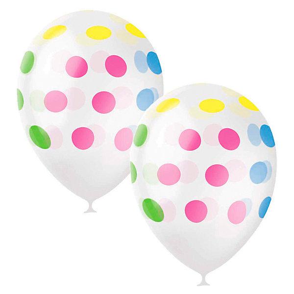 Latex Occidental Воздушные шары Разноцветный горошек 25 шт, декоратор