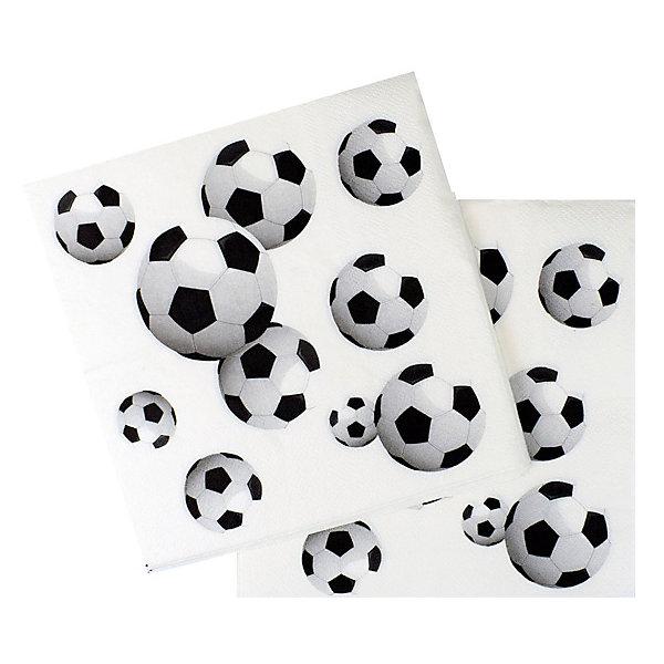Патибум Салфетки Футбол 20 шт, 33х33 см
