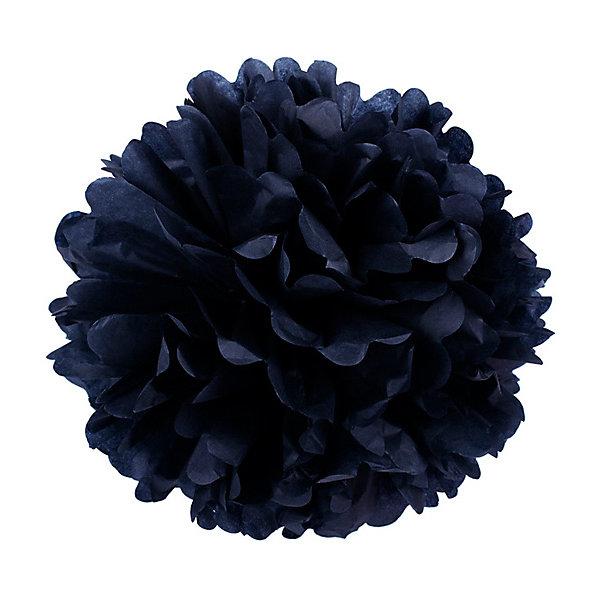 где купить Патибум Помпон бумажный Патибум 40 см, чёрный по лучшей цене