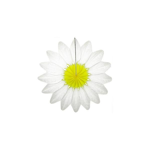 Патибум Бумажное украшение Патибум Цветок 36 см, белый патибум свеча для торта патибум цифра 9 7 см голубое конфетти