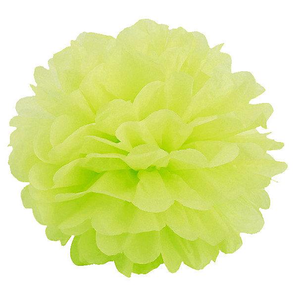 где купить Патибум Помпон бумажный Патибум 40 см, салатовый по лучшей цене