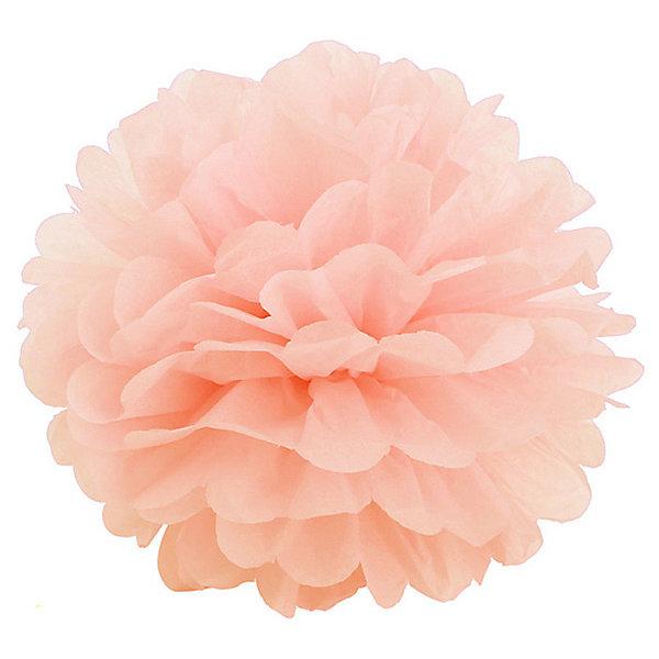 где купить Патибум Помпон бумажный Патибум 40 см, персиковый по лучшей цене