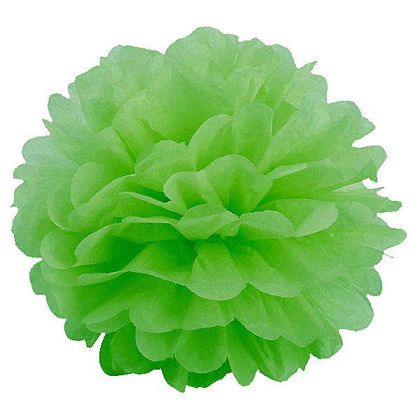 где купить Патибум Помпон бумажный Патибум 40 см, светло-зелёный по лучшей цене