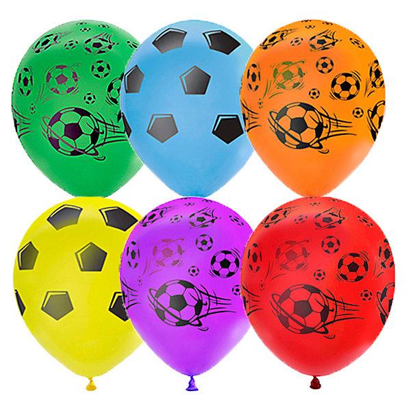 Latex Occidental Воздушные шары Футбол 25 шт, пастель + декоратор