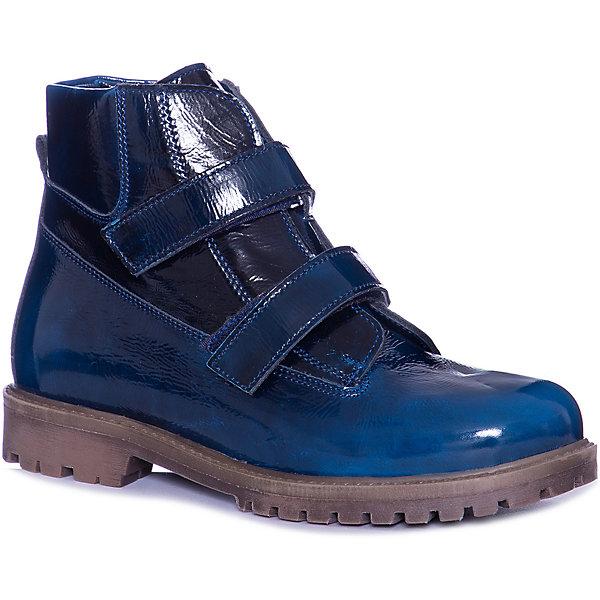 Тотто Ботинки Тотто для мальчика тотто тотто ботинки бирюзовые