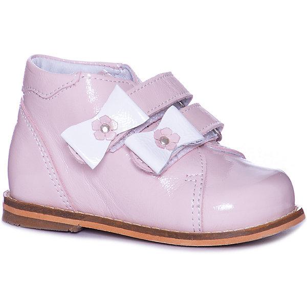 Тотто Ботинки Тотто для девочки ботинки для девочки тотто цвет сирень 038 кп размер 19