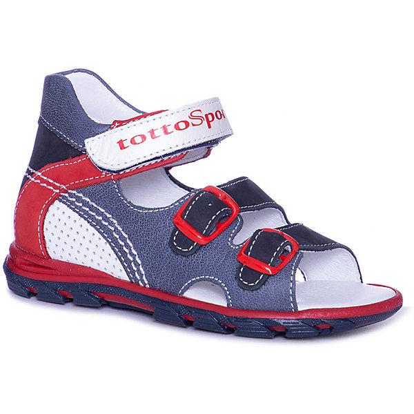 Тотто Сандалии Тотто для мальчика тотто сандалии для мальчика тотто