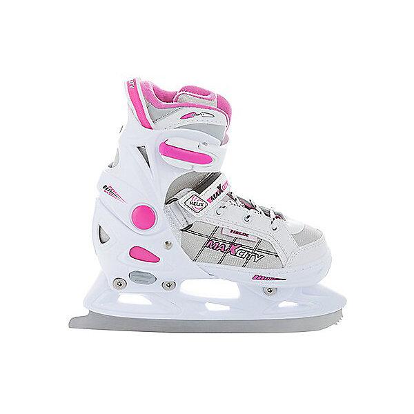Купить Раздвижные коньки МаxCity Helix для девочки, MaxCity, Китай, розовый, 33-36, 29-32, Женский