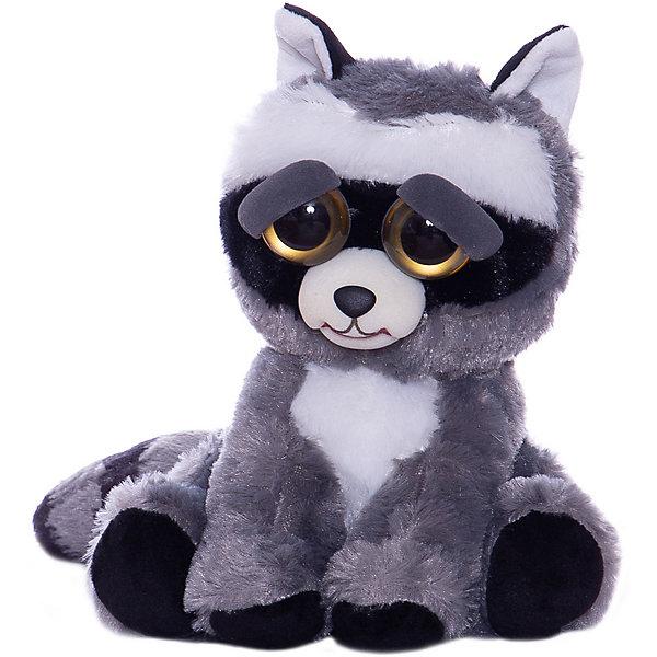 Feisty Pets Мягкая игрушка FeistyPets Енот, , 22 см цена