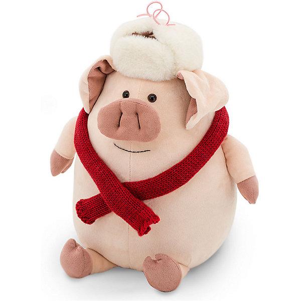 Купить Мягкая игрушка Orange Свин Степаныч, 30 см, Китай, розовый, Унисекс