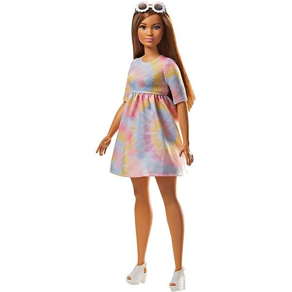Mattel Кукла Barbie Игра с модой в цветном платье, 29 см