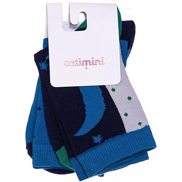 Catimini Носки, 3 пары Catimini для девочки колготки носки гетры playtoday носки для девочки 3 пары лучшие друзья 178090
