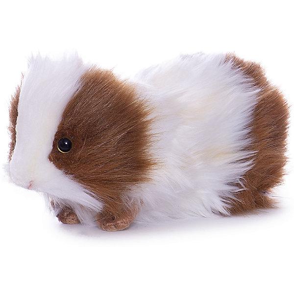 Hansa Морская свинка бело-коричневая Hansa, 20 см мягкие игрушки hansa обезьянка сидящая палевая 20 см
