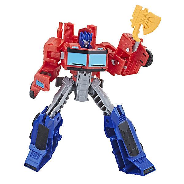 Hasbro Трансформеры Transformers Кибервселенная Оптимус Прайм, 14 см