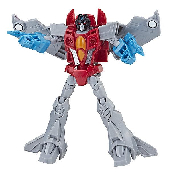 Hasbro Трансформеры Transformers Кибервселенная Старскрим, 14 см