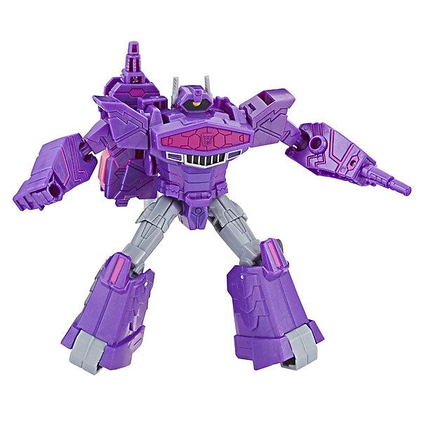 Hasbro Трансформеры Transformers Кибервселенная Шоквейв, 14 см