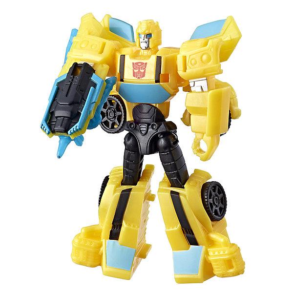 Hasbro Трансформеры Transformers Кибервселенная Бамблби, 10 см игрушка hasbro кибервселенная e1886eu4