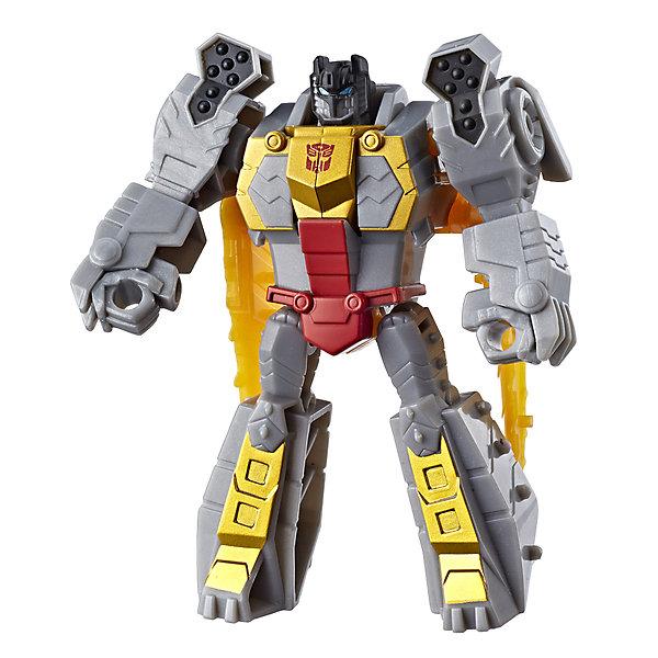Hasbro Трансформеры Transformers Кибервселенная Гримлок, 10 см
