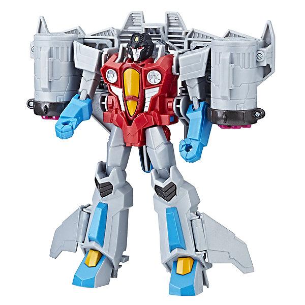 Hasbro Трансформеры Transformers Кибервселенная Старскрим, 19 см игрушка hasbro кибервселенная e1886eu4