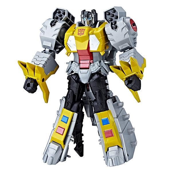 Hasbro Трансформеры Transformers Кибервселенная Гримлок, 19 см игрушка hasbro кибервселенная e1886eu4