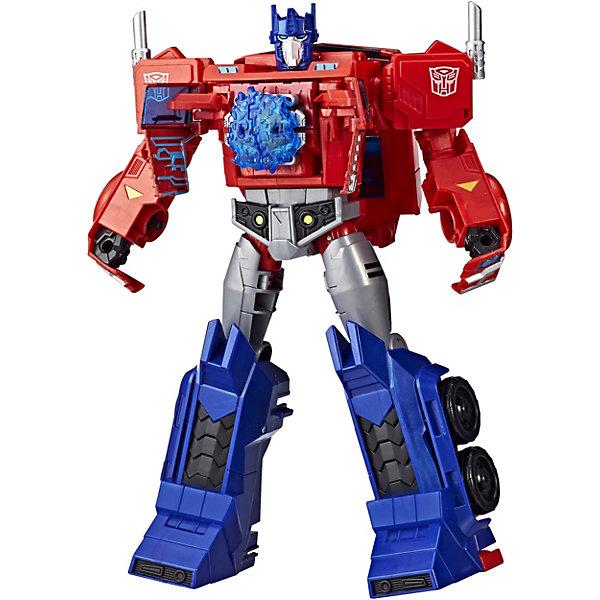 Hasbro Трансформеры Transformers Кибервселенная Оптимус Прайм, 30 см