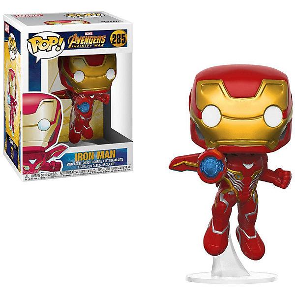 Фото - Funko Фигурка Funko POP! Bobble: Marvel Мстители: война бесконечности Железный Человек, 26463 фигурка железный человек режим сражения hasbro e0560