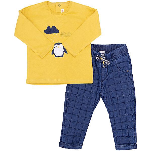 Catimini Комплект (джемпер+штанишки) Catimini для мальчика комплект для мальчика клякса кофточка штанишки цвет мятный белый 37к 2005 размер 80