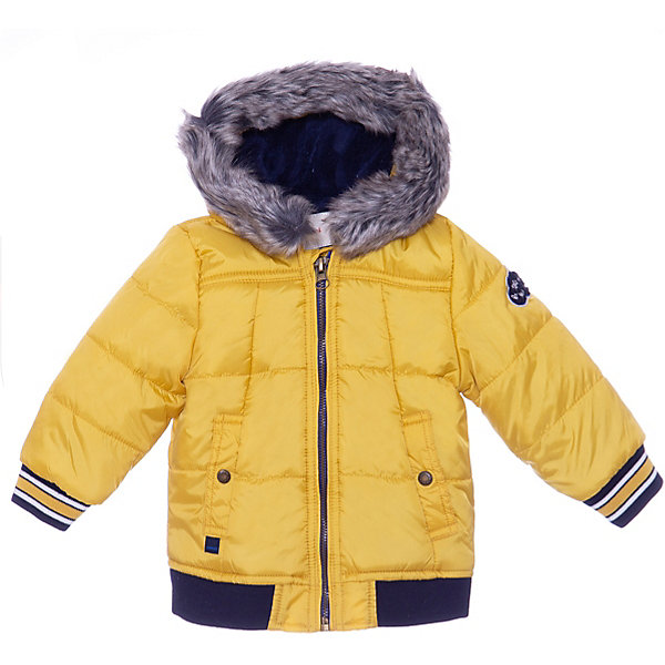 Купить Утепленная куртка Catimini, Китай, желтый, 80, 74, 104, 98, 86, Мужской