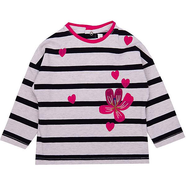 Catimini Футболка с длинным рукавом Catimini для девочки incity kids футболка с длинным рукавом