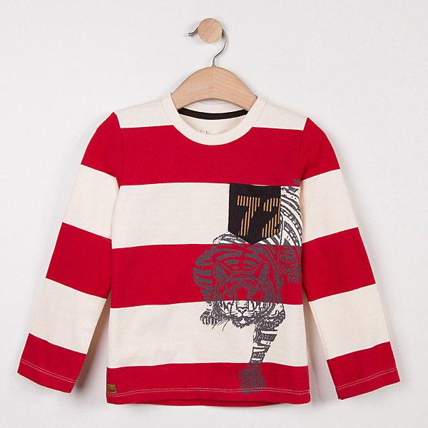 Catimini Футболка с длинным рукавом Catimini для мальчика футболка с длинным рукавом для мальчика umbro bradfield jersey l s цвет белый красный 60027u размер yl 152