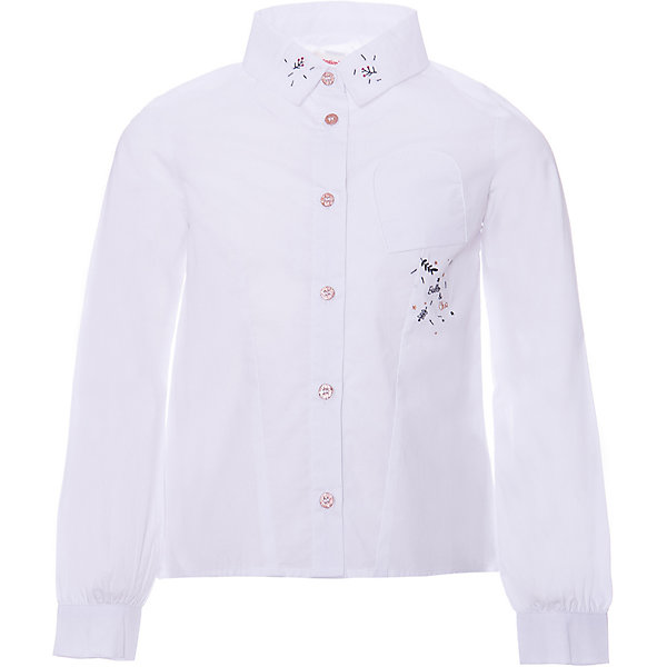 Catimini Блузка Catimini для девочки wunderkind блузка