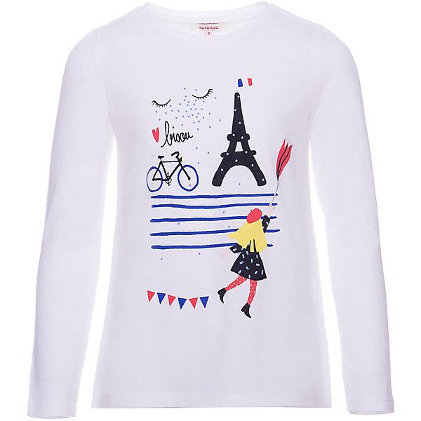 Catimini Футболка Catimini для девочки футболка белая catimini ут 00011611