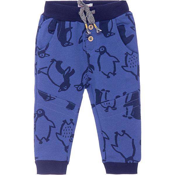 Спортивные брюки CatiminiБрюки<br>Характеристики:<br><br>• состав: 100% хлопок;<br>• сезон: демисезон;<br>• застёжка: брюки на резинке, шнурок-завязка;<br>• два кармана спереди;<br>• страна бренда: Франция.<br><br>Брюки для мальчика с игривым принтом с пингвинами. Эластичная талия обхват которой можно регулировать при помощи шнурка-завязки. Декоративные кнопки. 2 наклонных кармана.