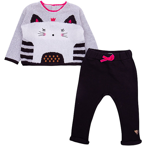 Catimini Комплект (свитер+штанишки) Catimini для девочки брюки джинсы и штанишки artie штанишки для девочки аbr 086d