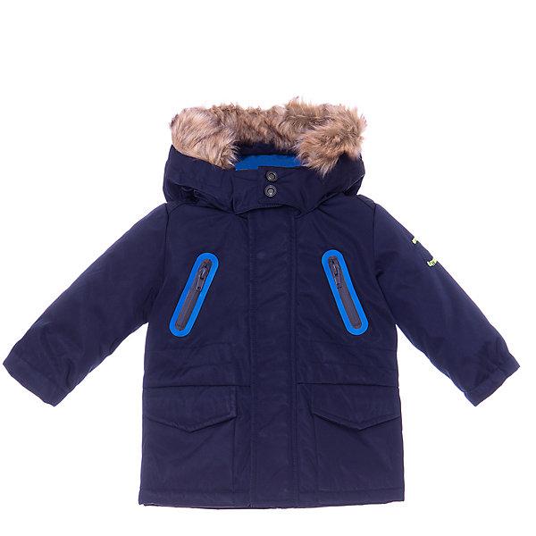 Купить Утепленная куртка Catimini, Китай, темно-синий, 86, 74, 98, 80, 104, Мужской