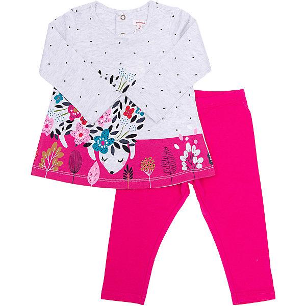 Catimini Комплект (джемпер+штанишки) Catimini для девочки брюки джинсы и штанишки coccodrillo леггинсы для девочки oh ok