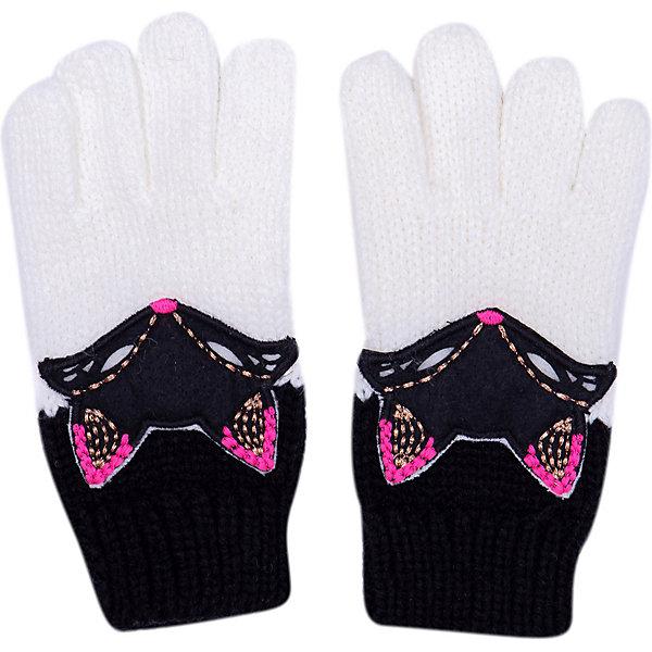 Catimini Перчатки Catimini для девочки eleganzza серые перчатки с отделкой